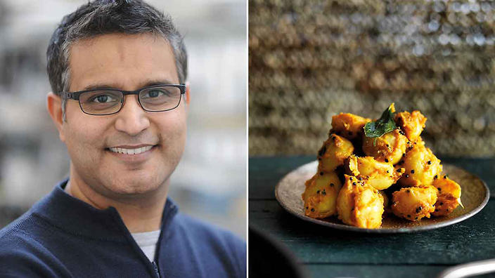 Atual Kochhar and his spiced coconut poatoes