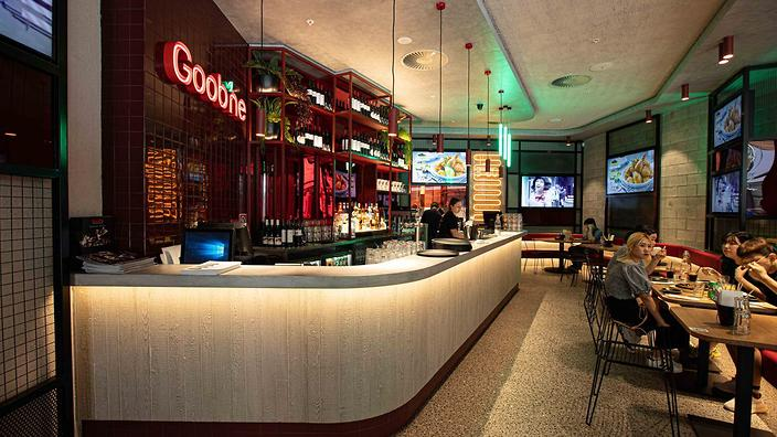 Goobne in Darling Square is the first Australian store of the Korean restaurant chain.
