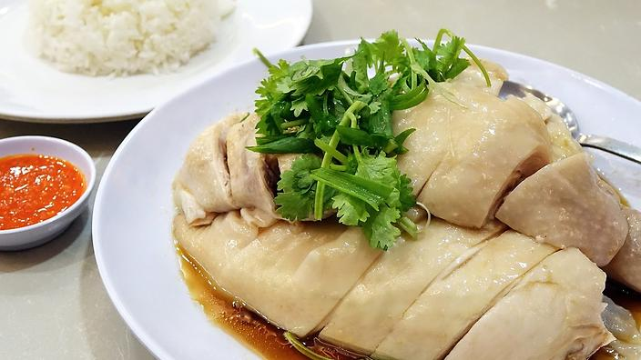 Dipping Sauce And A Little Controversy Chicken Rice Wow Factor