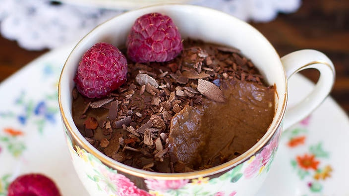 Chilli chocolate mousse