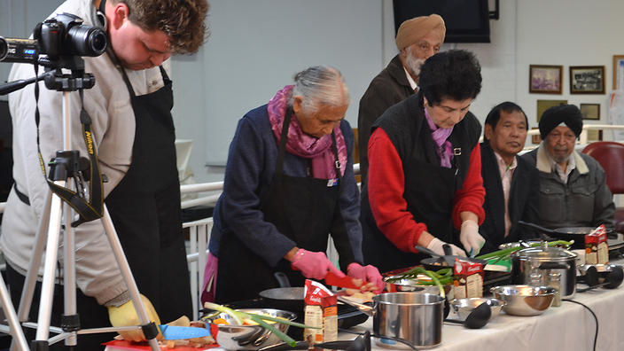 Cooking classes at Beehive Industries