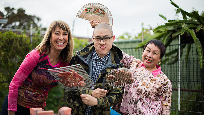 FSF ep 8 Dan and Angie Hong with Maeve O'Meara