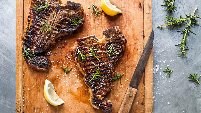 Florentine t-bone steak