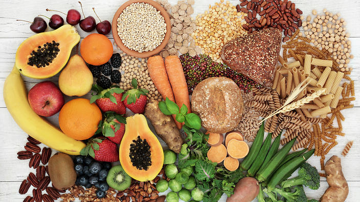 Researchers found that the risk of developing ovarian cancer was reduced by 22% in the group of people who ate the highest amounts of daily dietary fibre.
