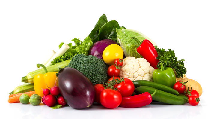 An image of the vegetarian diet.