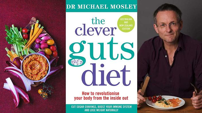 Michael Mosley Clever Guts cookbook.
