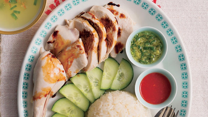 Hainanese chicken rice chinese recipes sbs food forumfinder Gallery