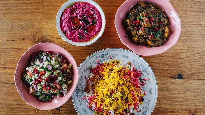Hamed is one of three cooks gifting recipes to the annual Feast for Freedom.