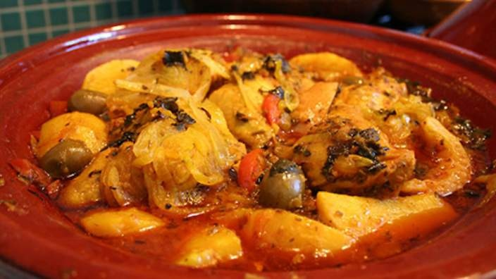 Chicken tagine with preserved lemon | Recipes | SBS Food