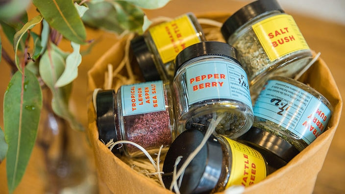 Fill your spice rack with native flavours. Indigenous