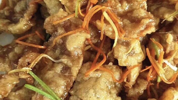 Northeastern Chinese sweet and sour pork