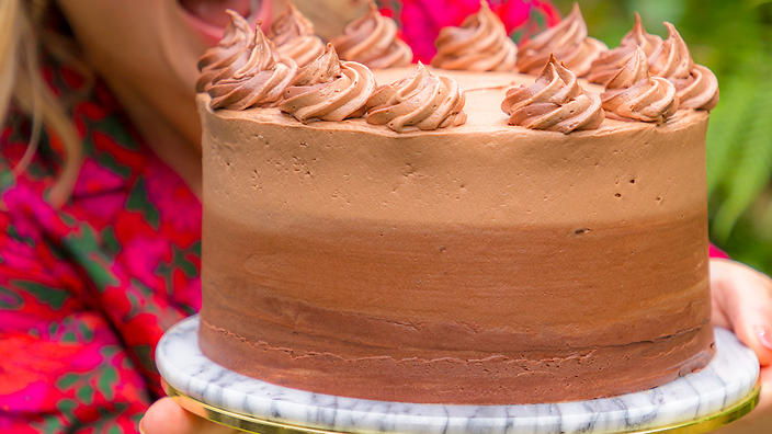Ultimate chocolate fudge cake by Juliet Sear
