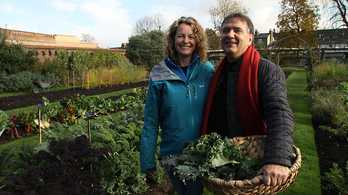 Kate Humble and Raymond Blanc
