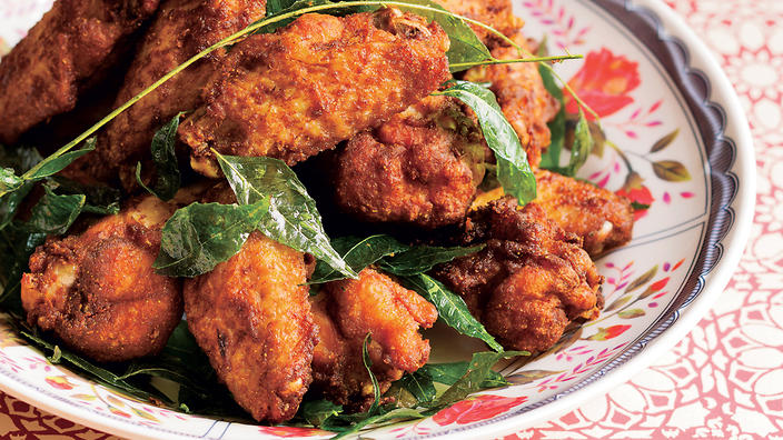 Kunyit turmeric fried chicken malaysian recipes sbs food forumfinder Images