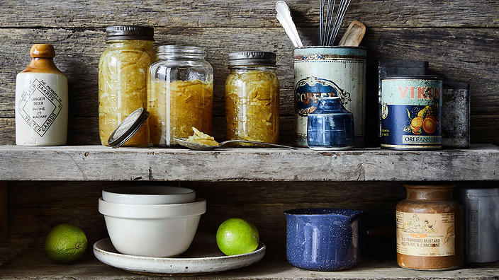 Lime ginger marmalade