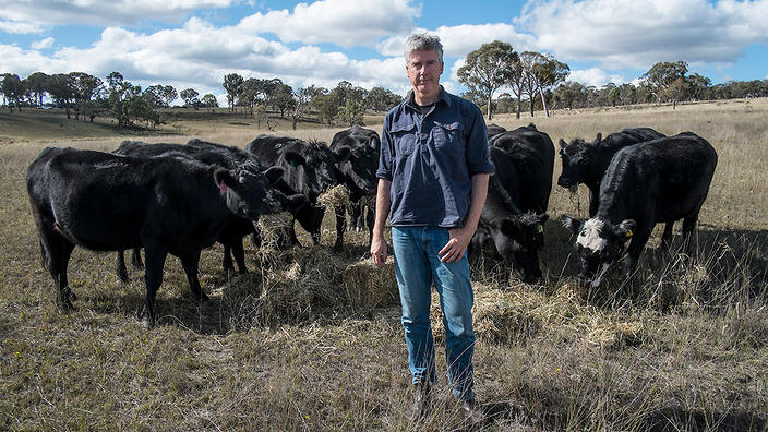 Matthew Evans at CSIRO Armidale for For The Love Of Meat