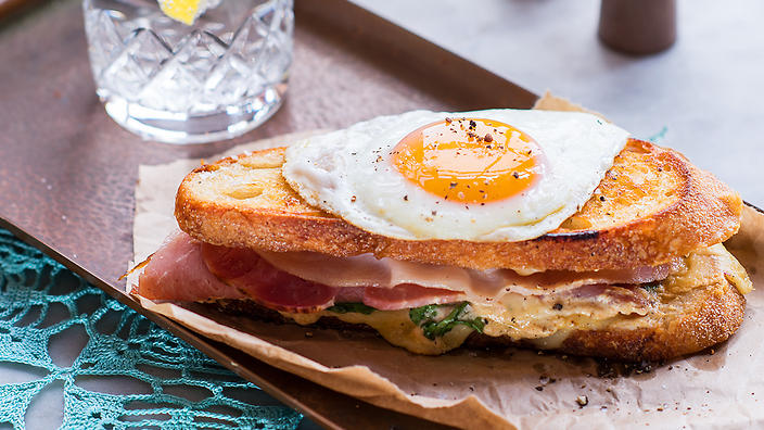 Matthew's croque madame