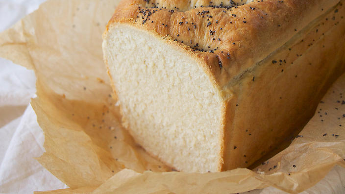 Farmhouse milk bread