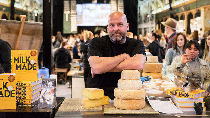 The festival is co-presented by Milk Made author Nick Haddow (Bruny Island Cheese Co.)