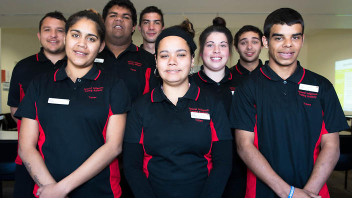The Voyages Indigenous traineeship program includes recruits from the local area and around Australia.