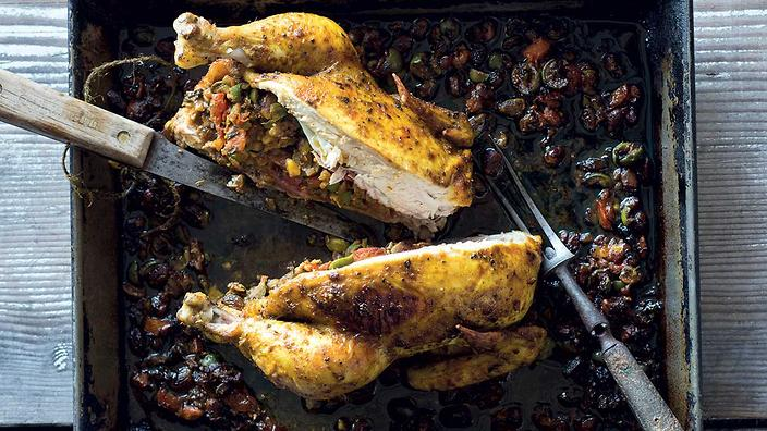 Olive and Pistachio Chicken