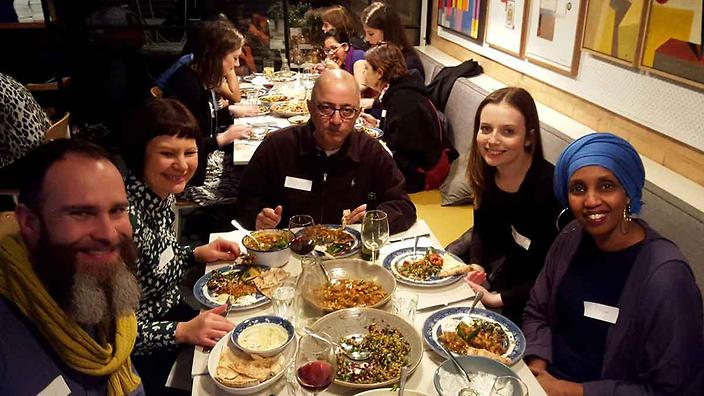 PeaceMeals July event with Miriam Issa (right)