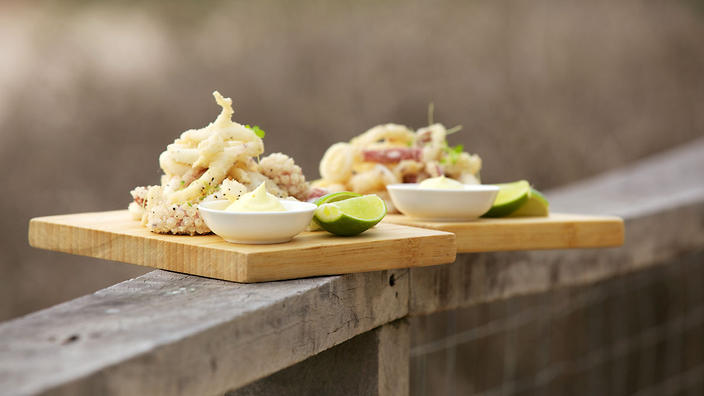 Star of Greece salt and pepper squid