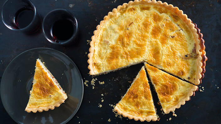 Quiche lorraine baking recipes french food sbs food forumfinder Gallery