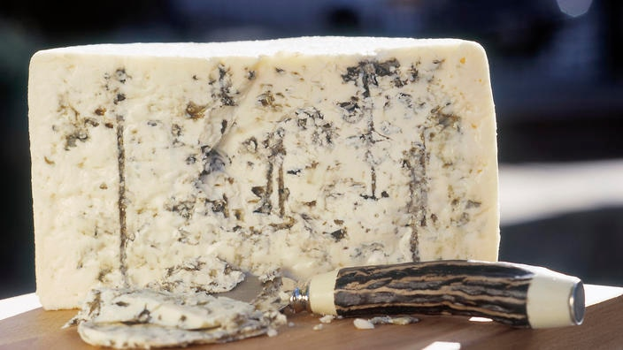 Roquefort is a blue cheese made of sheep's milk