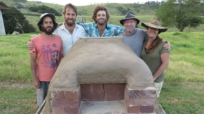 How to build a simple DIY wood-fired oven : SBS Food