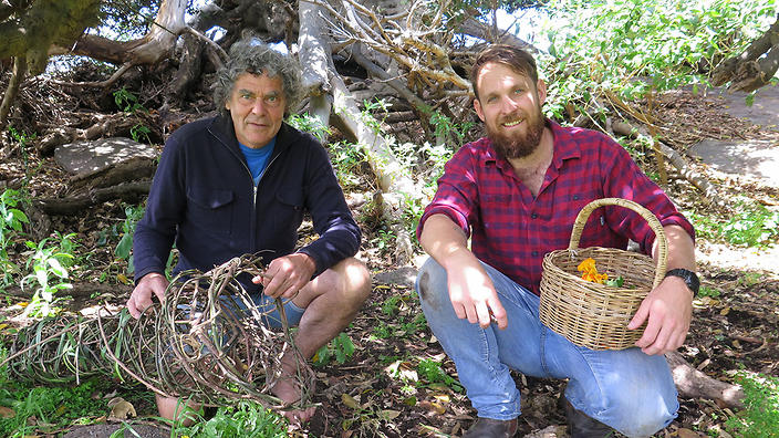 Noel Butler And Paul West On The River Cottage Australia Farm