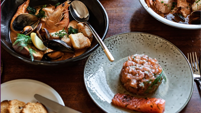 L'Heritage is a French Bistro in Chowder Bay on Sydney's lower north shore.