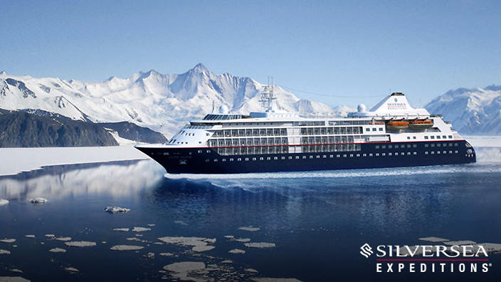 Win A Luxury Cruise For With Silversea SBS Food - Cruise ship silver cloud
