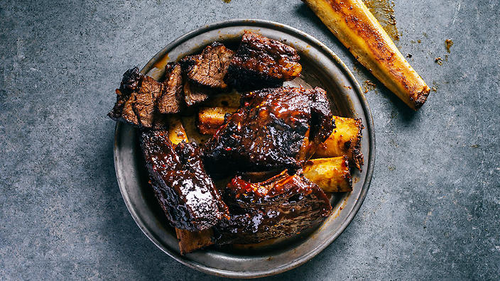 Bourbon beef ribs barbecue recipes sbs food forumfinder Choice Image