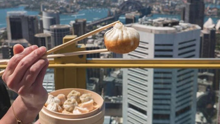 New Shanghai are serving up their soupy dumplings at Sydney Tower Eye for Lunar New Year.