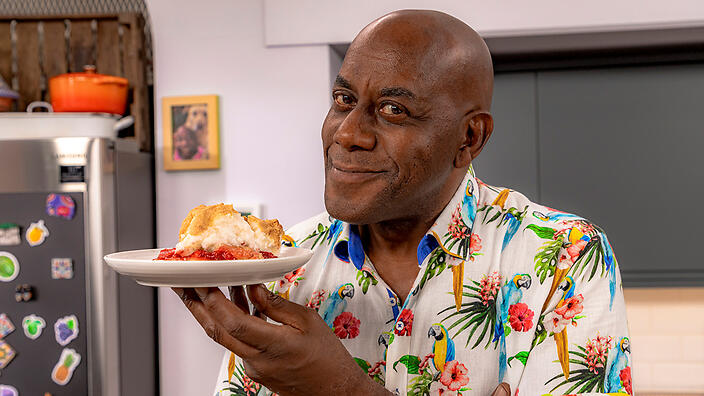 Ainsley Harriott with Queen of Puddings