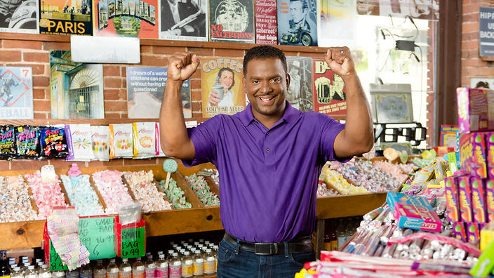 Alfonso Ribeiro in Unwrapped 2.0