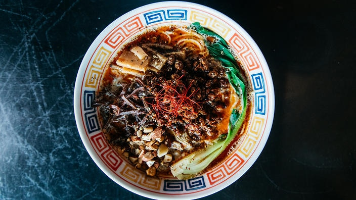 Lonely Mouth: The vegan tantanmen is based on a fiery broth that'll hit all the right spots.