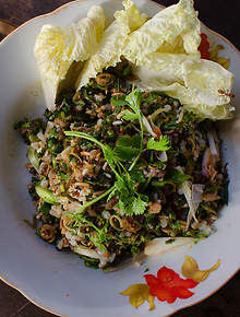 Lao recipes and lao food sbs food red ant egg salad forumfinder Image collections