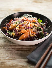 Australian recipes and australian food sbs food salmon cold noodle salad forumfinder Gallery