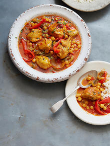 Spanish recipes and spanish food sbs food aracena chicken with chickpeas forumfinder Image collections