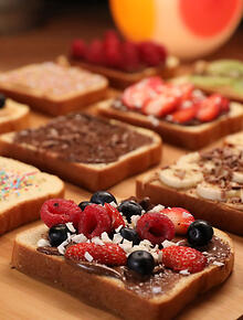 Danish recipes and danish food sbs food chocolate smrrebrd a favourite danish breakfast food forumfinder Gallery