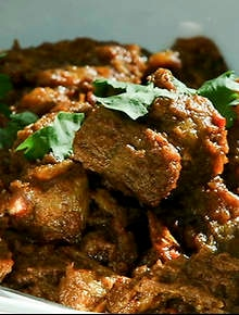 indian lamb browned in its sauce mallika is young and pretty she has a ...