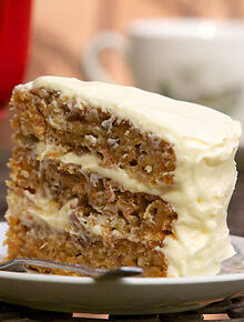 American Southern Style Carrot Cake