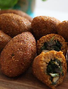 Lebanese recipes and lebanese food sbs food pumpkin kibbeh forumfinder Image collections