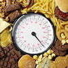 Scales and High Calorie Food