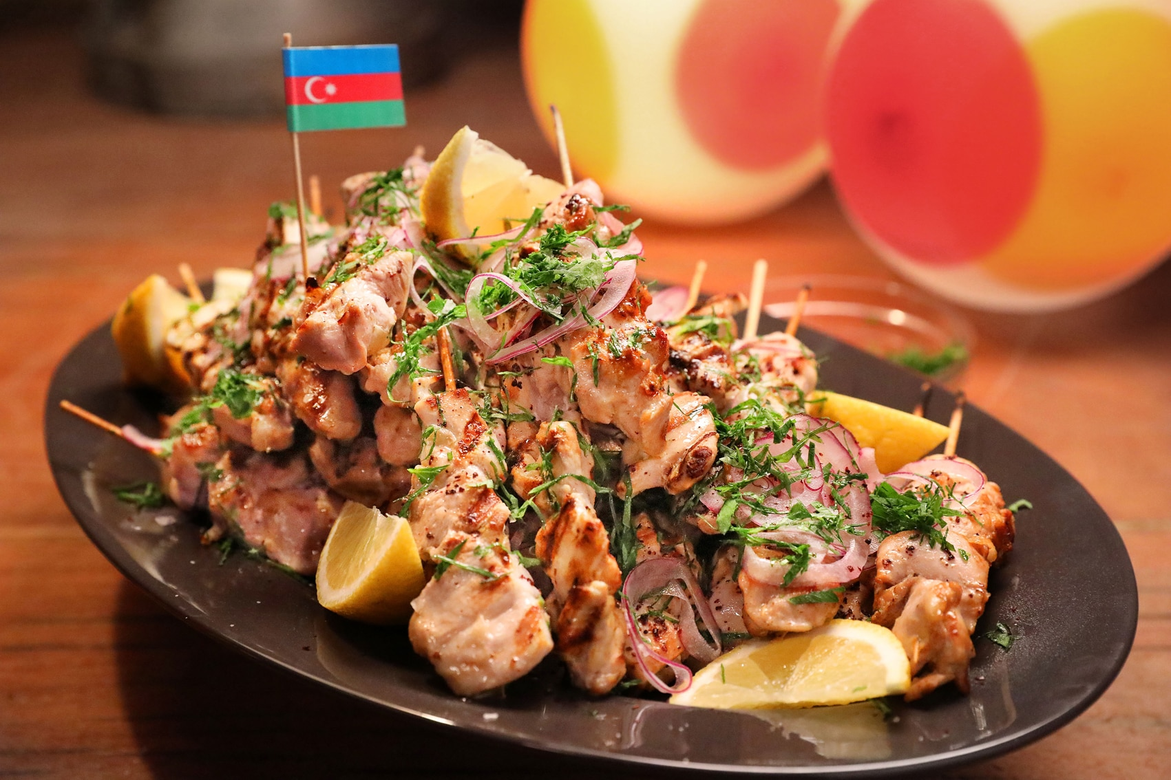Toyug Kebabs (Azeri Sour Chicken Skewers) Recipe