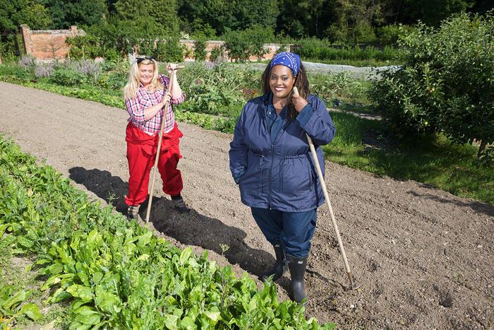 Gemma Collins and Alison Hammond in Sugar Free Farm S2