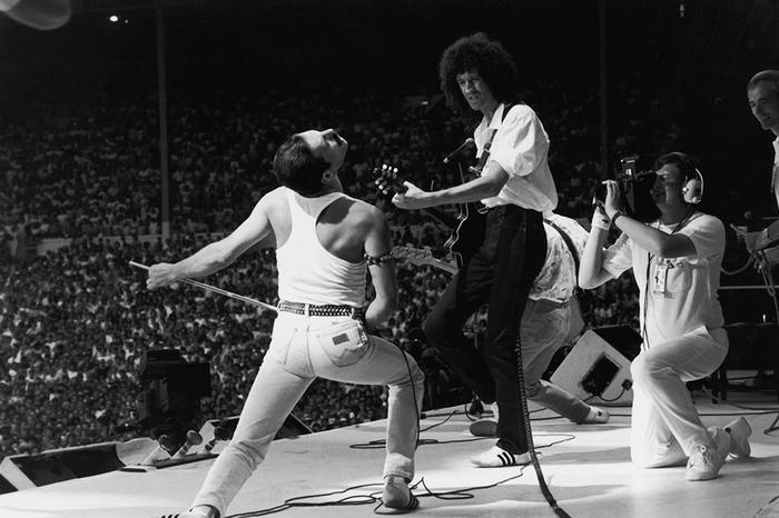 Freddie Mercury, Brian May, Queen