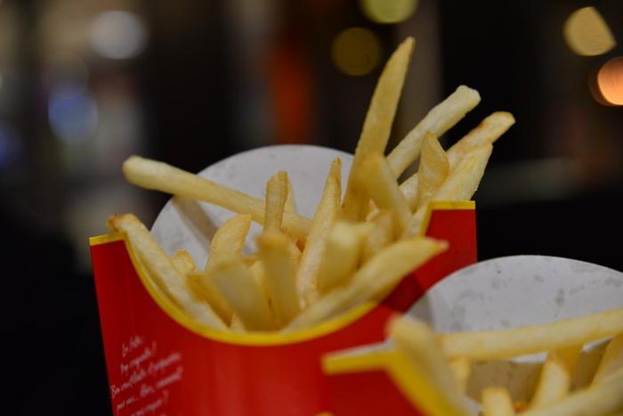 mcdonald's fries beef